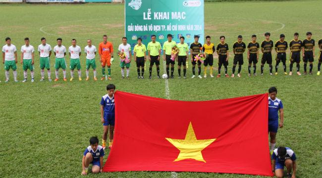 Khai mạc giải bóng đá vô địch TP.HCM 2014