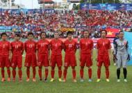 Tuyển nữ Việt Nam thua đậm 0-5 trước ứng viên vô địch Triều Tiên