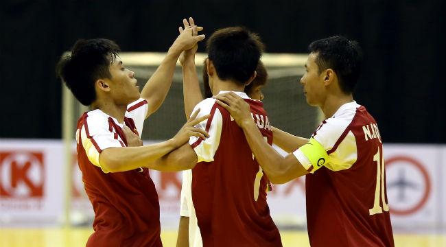 Giải vô địch futsal Đông Nam Á 2014:  Việt Nam thắng dễ trước Myanmar