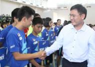 Khai mạc Giải Futsal học sinh THCS TP.HCM lần thứ VII năm học 2014-2015 tranh Cúp Aquarius