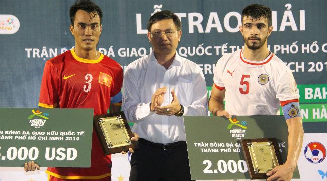Tuyển Việt Nam thắng dễ U-23 Bahrain 3-0