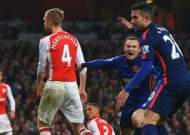 Arsenal 1-2 Manchester United: Rooney seals smash-and-grab win for Red Devils