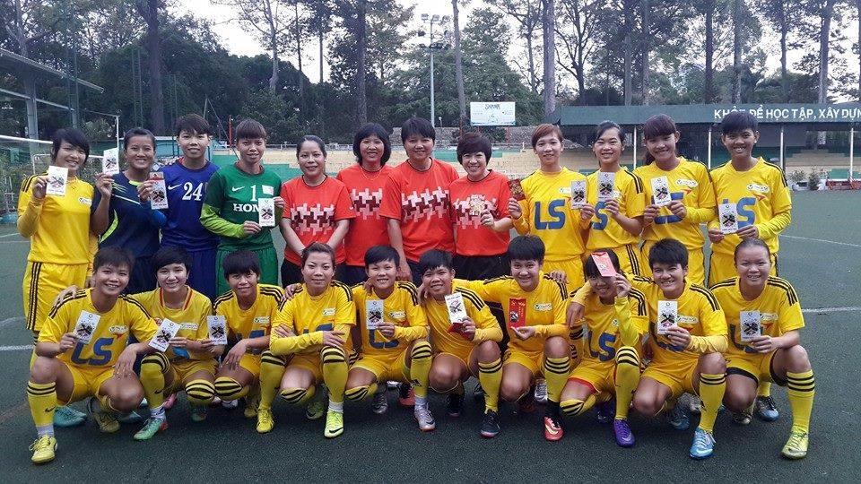 Giải bóng đá nữ Vô địch Quốc Gia – Cúp Thái Sơn Bắc 2015: Đội nữ TP.HCM hướng đến top 3