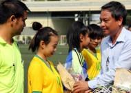 Giải thể thao học sinh TPHCM 2014-2015: Khai mạc môn bóng đá nữ THPT