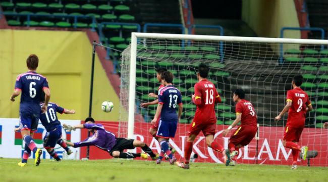 """Olympic Việt Nam – Olympic Nhật Bản 0-2: """"Chiếc xe bus"""" Việt Nam không chống nổi sức mạnh của Nhật Bản"""