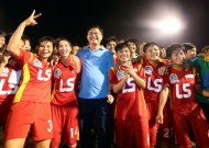 2015 national women's football tournament - Thai Son Bac Cup: Ho Chi Minh football team to win first title
