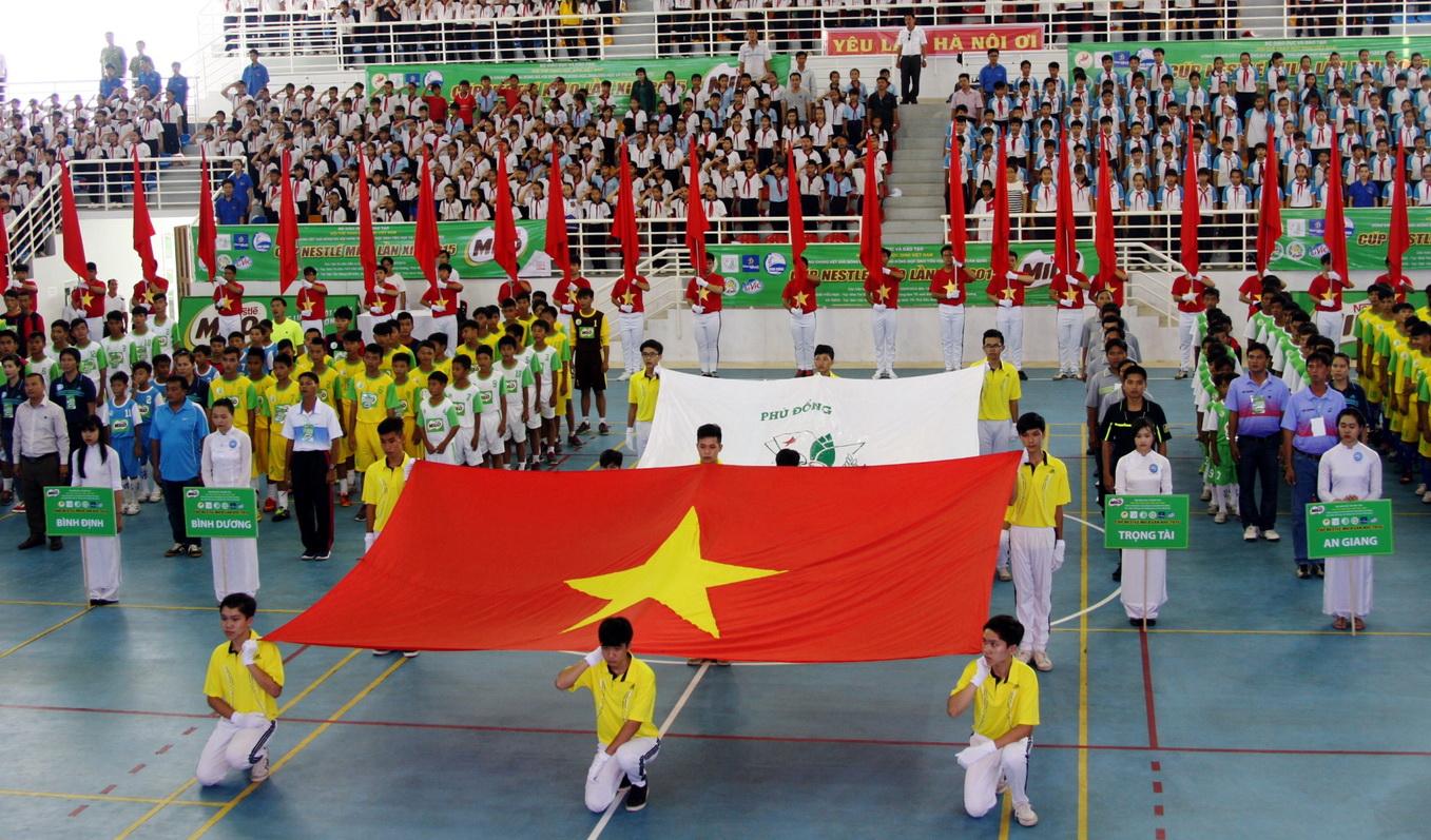 Vòng chung kết Giải bóng đá Hội Khỏe Phù Đổng - Cúp Milo Lần thứ XIII – 2015