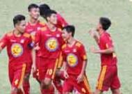 Bảng B VCK U17 QG – Cúp Thái Sơn Nam 2015: PVF, SLNA vào bán kết