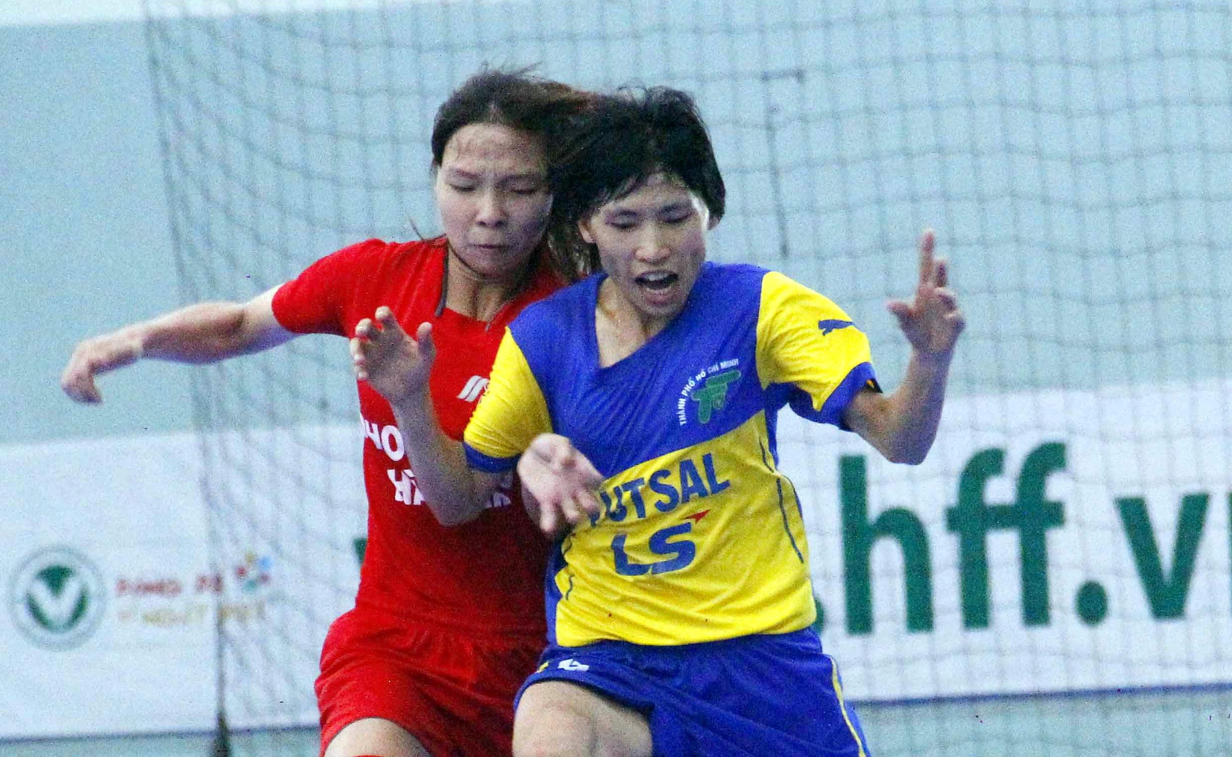 Lượt cuối giải futsal nữ TP.HCM mở rộng – cúp LS lần 5