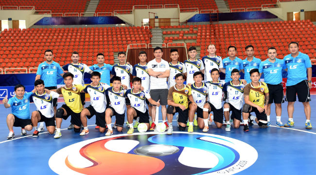 CLB Thái Sơn Nam sẵn sàng cho VCK futsal các CLB châu Á 2015