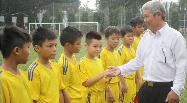 Khai mạc giải bóng đá Hội Khỏe Phù Đổng TP.HCM khối 6&7 năm học 2015 – 2016