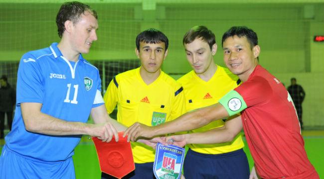 Giao Hữu Tuyển Việt Nam hòa Tuyển Uzbekistan 3-3