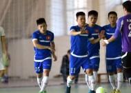 Tuyển futsal Việt Nam với bước chạy đà hoàn hảo