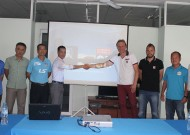 Officer of Lyon FC (France) to visit Thai Son Nam gymnasium