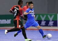 Thai Son Nam Futsal club close to finals' ticket game after having defeated Black Steel Club (Indonesia),