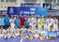 Thái Sơn Nam vô địch giải Futsal TPHCM 2016