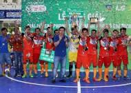 CLB Đinh Gia đoạt Cúp vô địch Giải Futsal phong trào TPHCM 2016