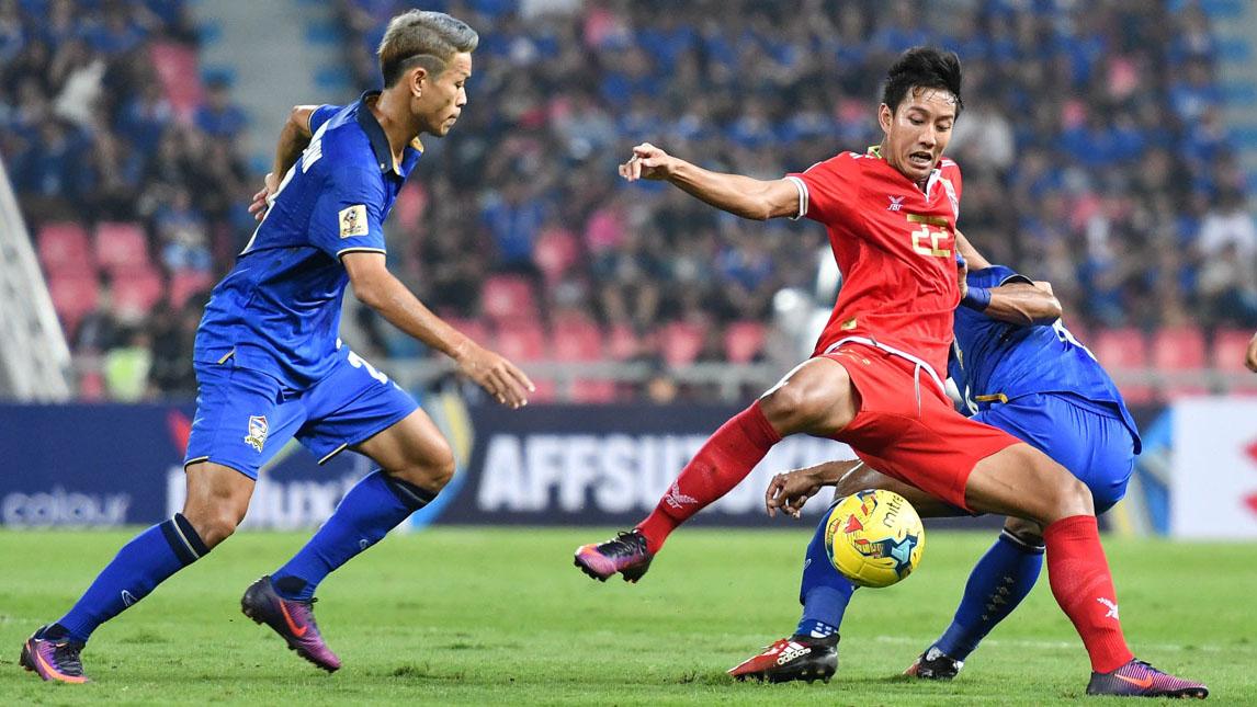 Thái Lan vào chung kết AFF Cup sau khi thắng đậm Myanmar