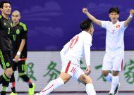 Đội tuyển futsal Việt Nam xuất sắc đánh bại Mexico tại giải tứ hùng ở Trung Quốc