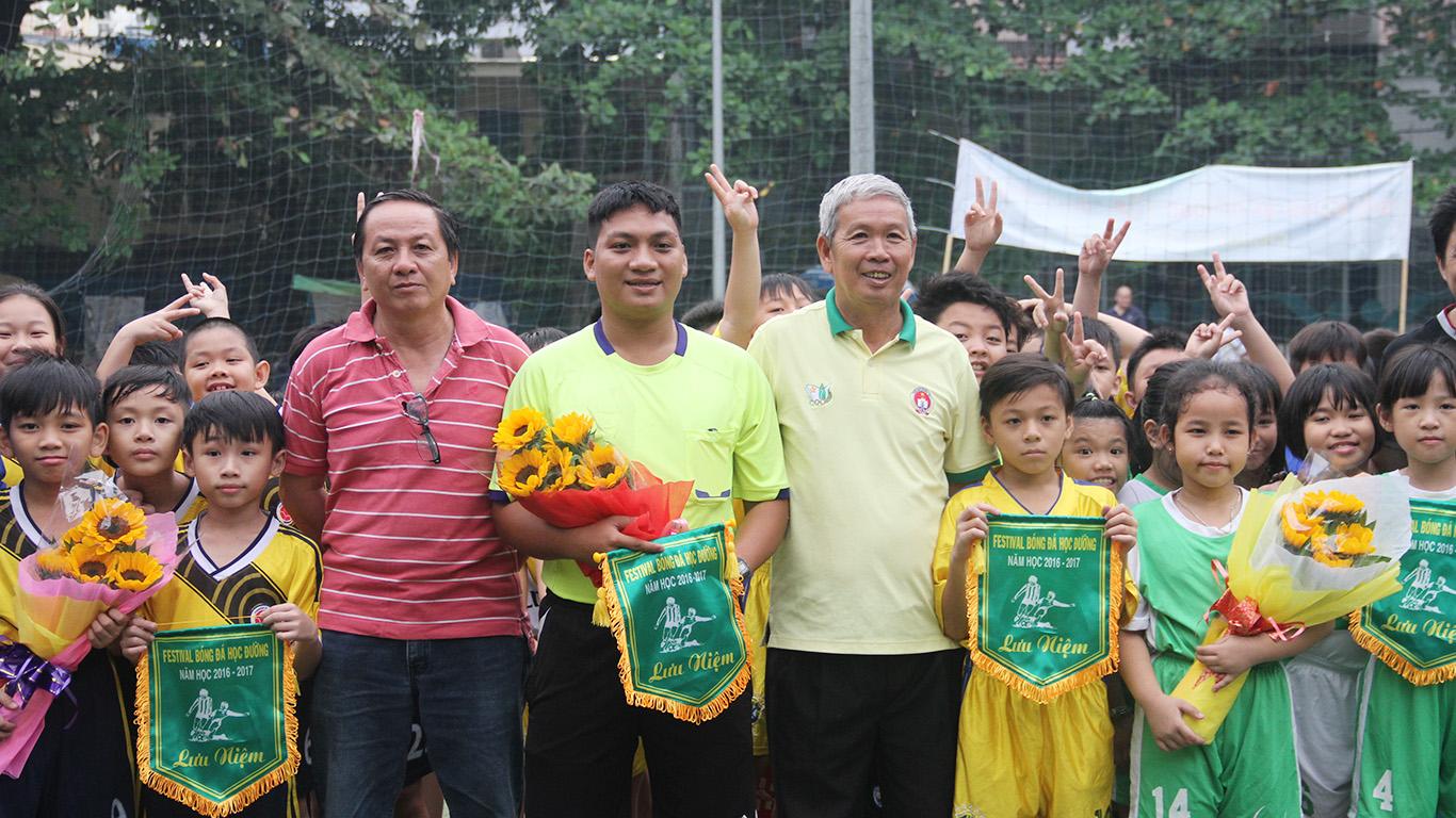 Festival bóng đá học đường TPHCM, năm học 2016 - 2017, cụm 7 (Quận 3, 5, 10)