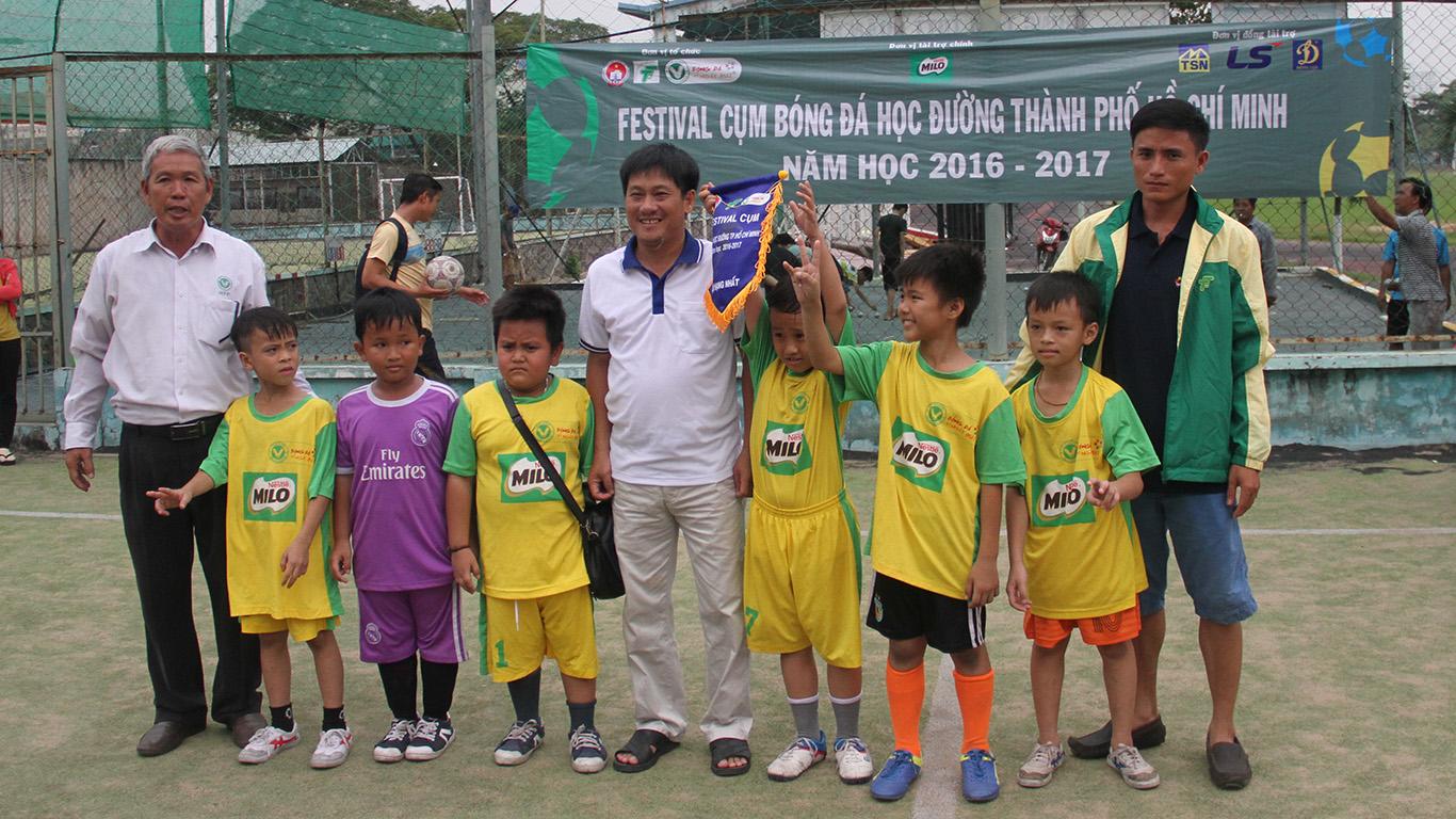 Festival bóng đá học đường cụm 14 (Quận 8), năm học 2016 - 2017