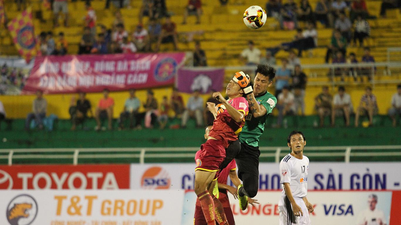 Sài Gòn FC đánh bại SHB Đà Nẵng trên sân Thống Nhất