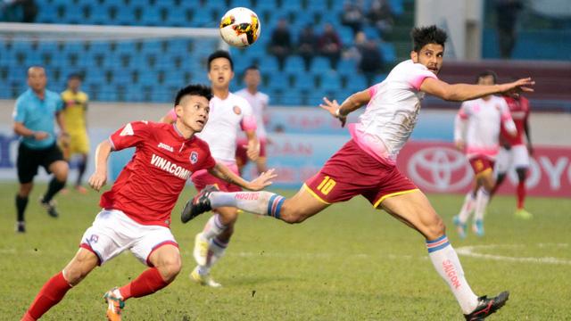 Sài Gòn FC thua Than Quảng Ninh tại vòng 7 V-League 2017