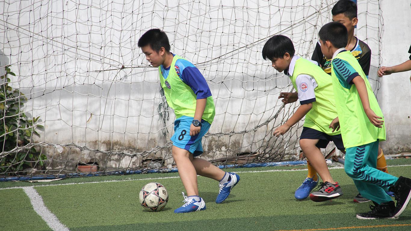 Festival bóng đá học đường khối Tiểu học quận Tân Bình, năm học 2016 - 2017