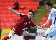 U20 futsal Việt Nam không thể vượt qua Nhật Bản tại giải châu Á 2017
