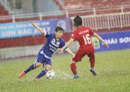 Phong Phú Hà Nam lên ngôi đầu giải bóng đá nữ VĐQG – cúp Thái Sơn Bắc 2017