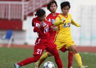 Hà Nội tạm giữ ngôi đầu giải bóng đá nữ VĐQG – cúp Thái Sơn Bắc 2017